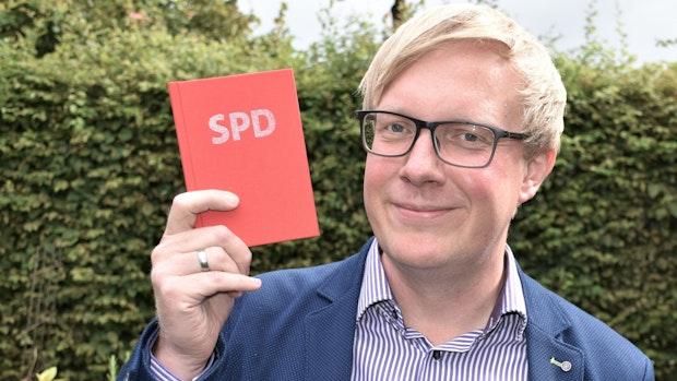 Alexander Bartz geht für den Wahlerfolg Klinken putzen