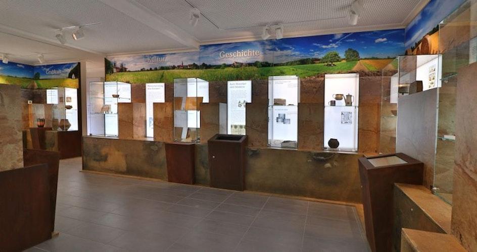 Das Archäo Visbek bietet Einblicke in Archäologie und Geschichte des Ortes.