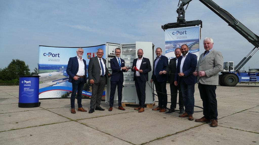 Land fördert Ausbau des C-Ports mit zunächst 1,8 Millionen Euro
