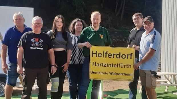 """Lutter Schützen statten Container im """"Helferdorf"""" aus"""