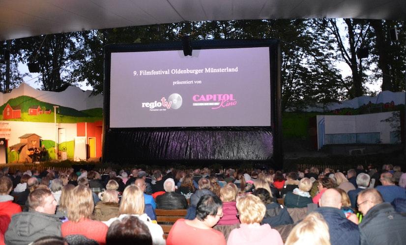 Kinogefühl: Vor der großen Leinwand konnten sich am 9. Filmfestival noch mehr Menschen versammeln - dieses Jahr sind die Plätze auf 220 begrenzt. Archivfoto: Bünker