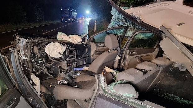 21-Jähriger wird bei Unfall auf B 68 schwer verletzt