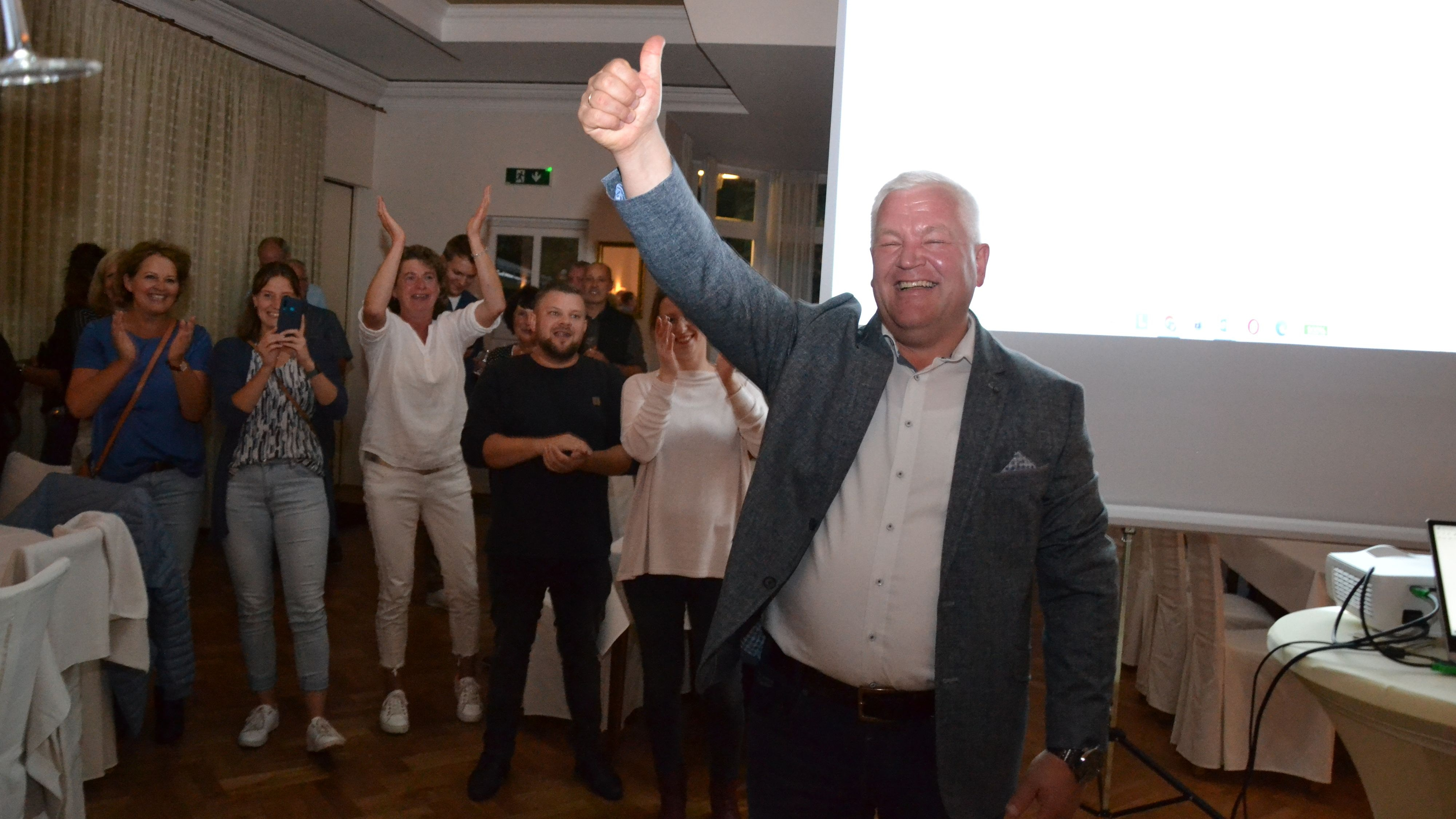 Ist Löningens neuer Bürgermeister: Burkhard Sibbel. Foto: G. Meyer