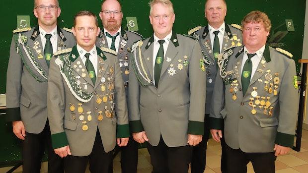 Altenoyther Schützen wählen Vorsitzenden ab