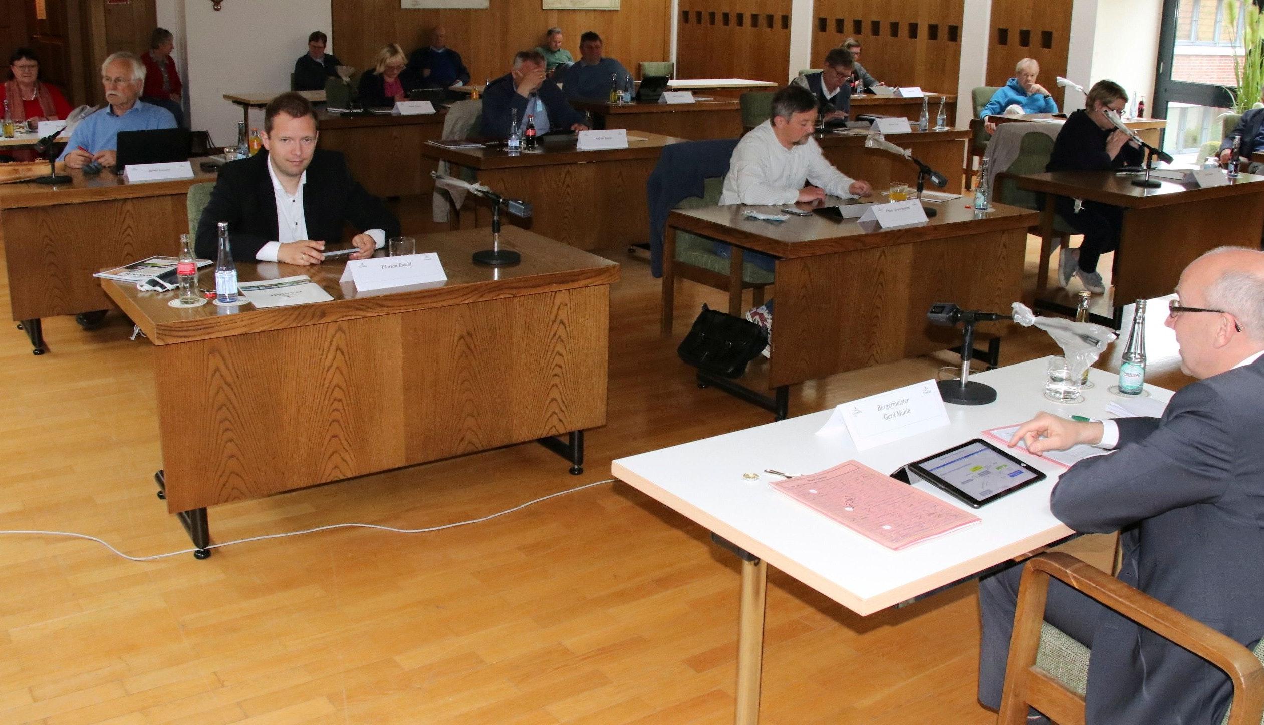 Neue Besetzung: Ab dem 1. November tagt im Ratssaal im Rathaus der am Sonntag gewählte Stadtrat. Foto: Lammert