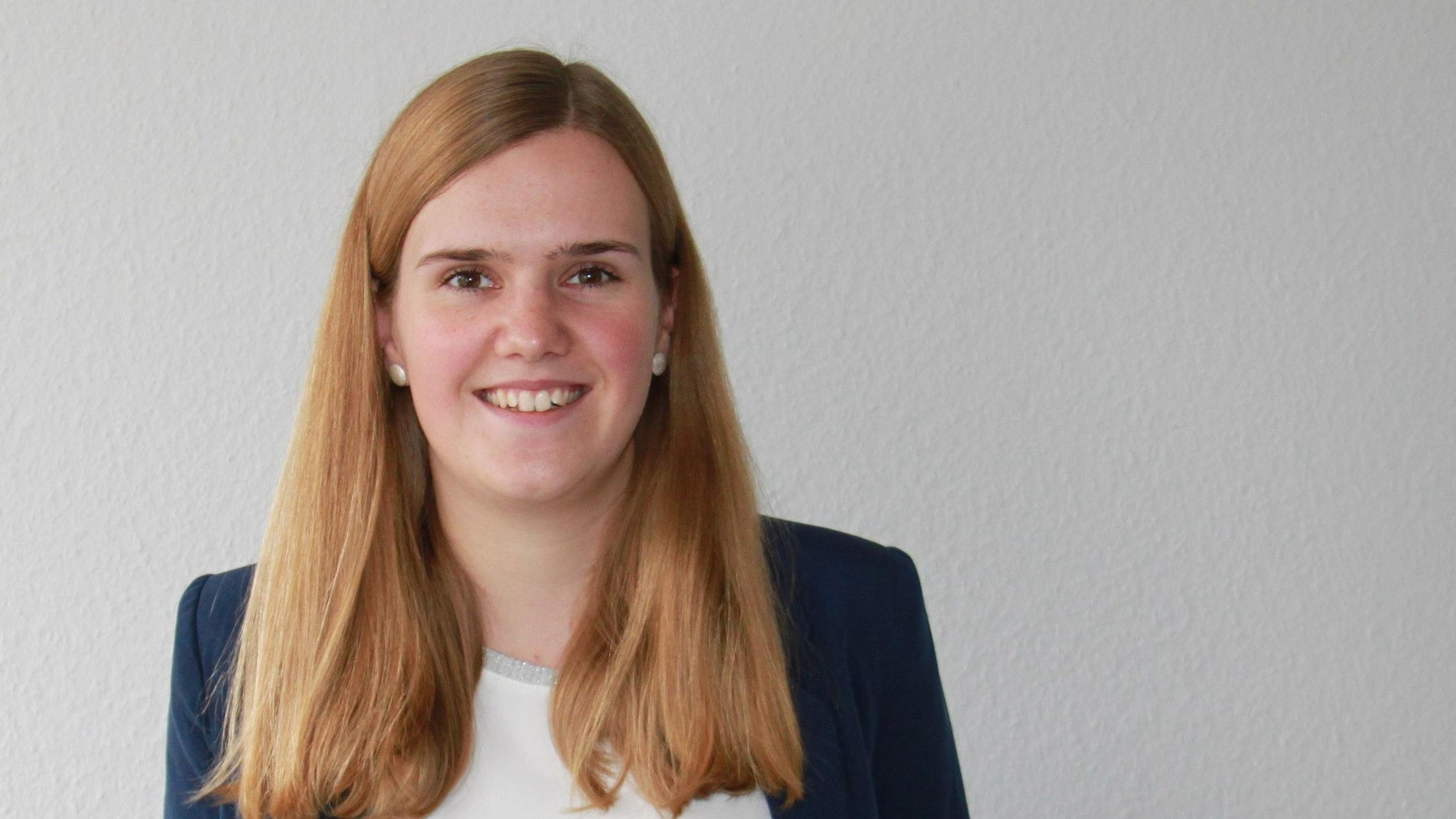 Sara Riesenbeck wurde als Newcomerin in der Kommunalpolitik direkt gewählt und formuliert klare Ziele als Ratsfrau. Foto: privat