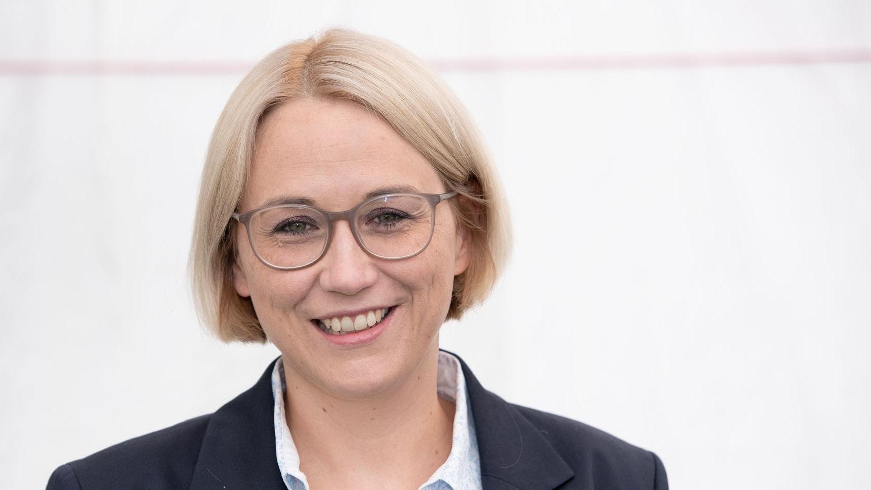 Sigerin der ersten Runde: Katharina Pötter (CDU). Foto: dpa/Gentsch