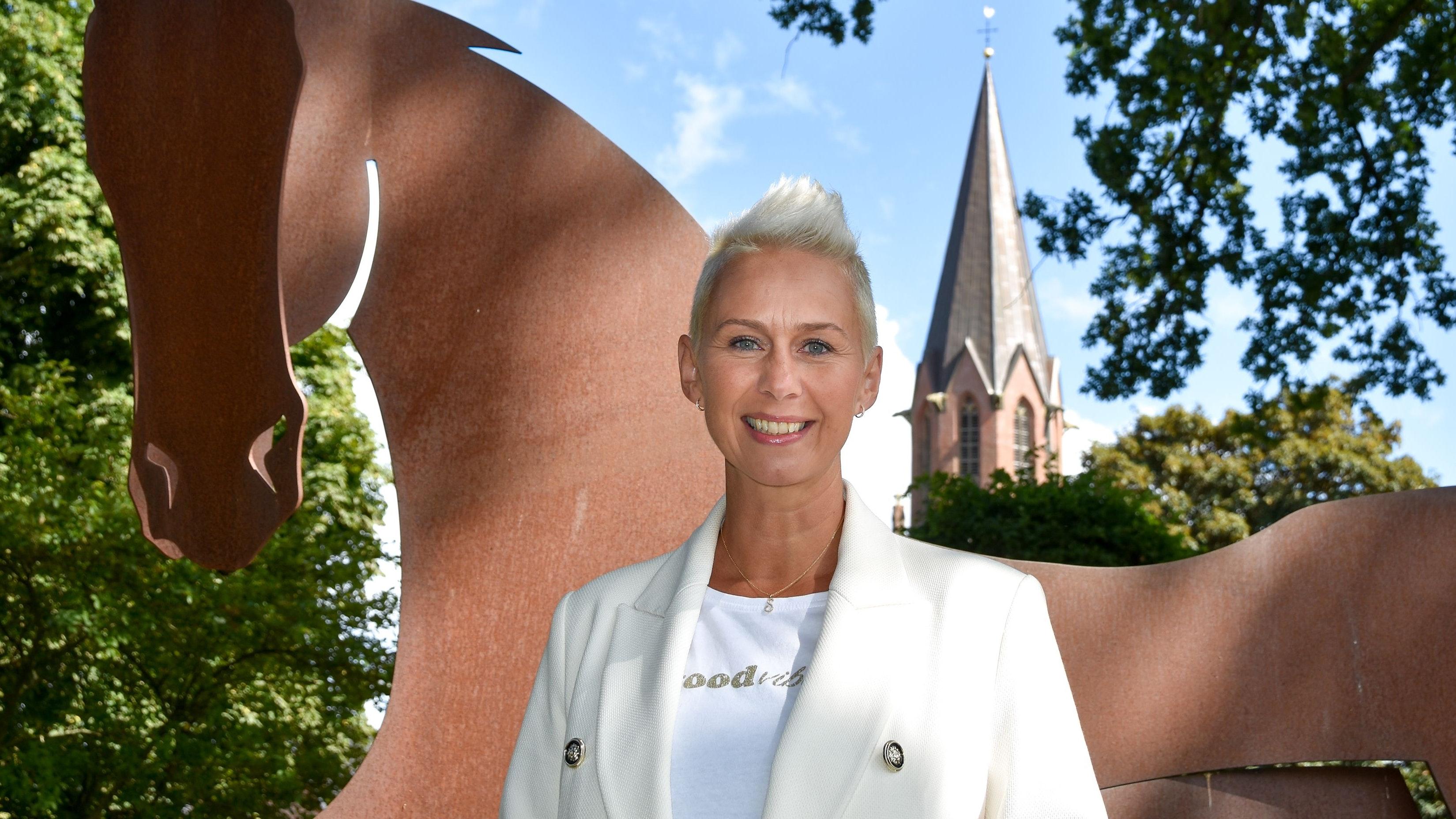 Setzt auf Experten vor Ort: Die CDU-Abgeordnete und stellvertretende Parteivorsitzende Silvia Breher in Lindern. Foto: Tzimurtas
