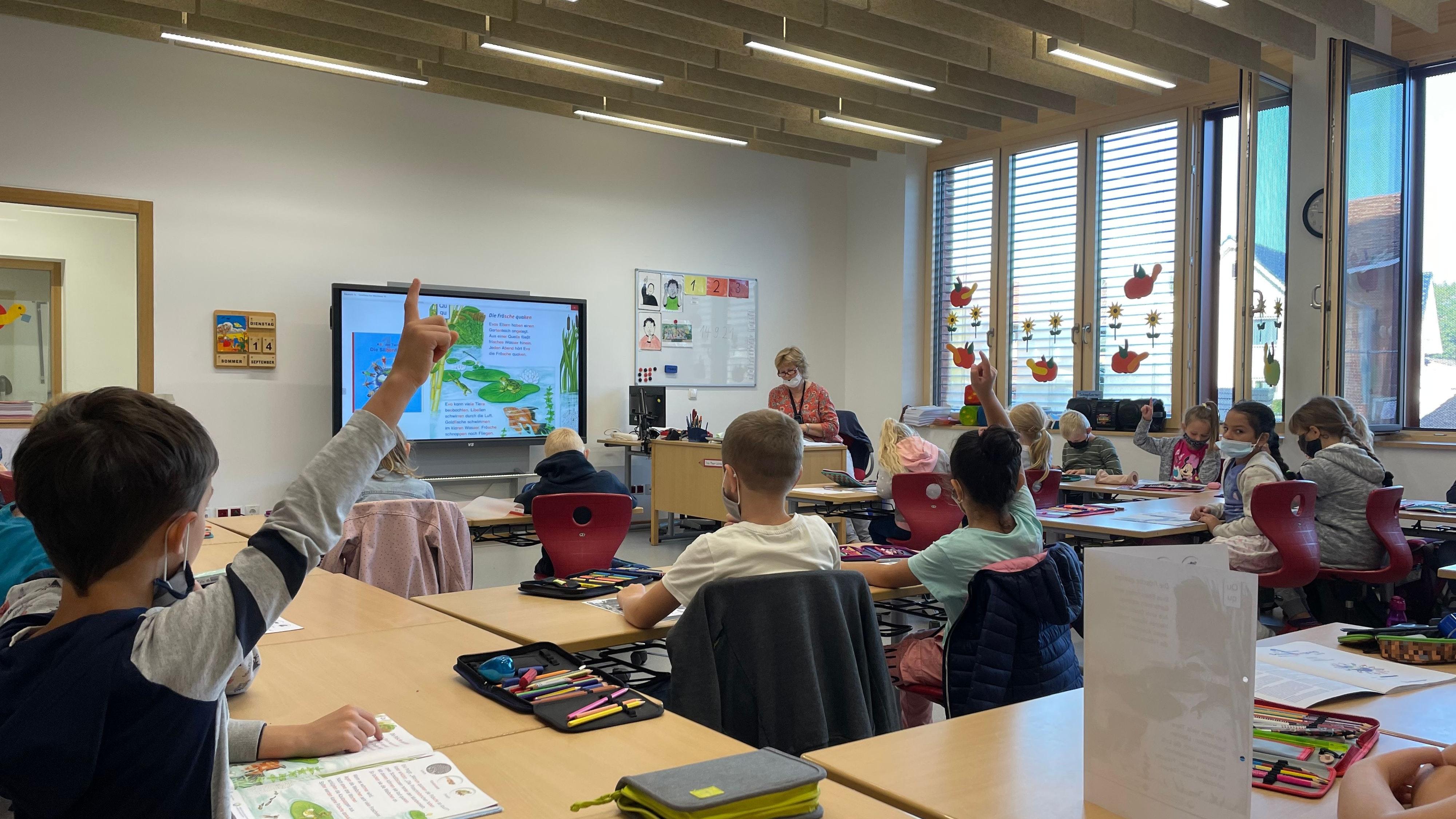 Lernatmosphäre: Essens Grundschüler haben das sogenannte Lernhaus bezogen. Foto: G. Meyer