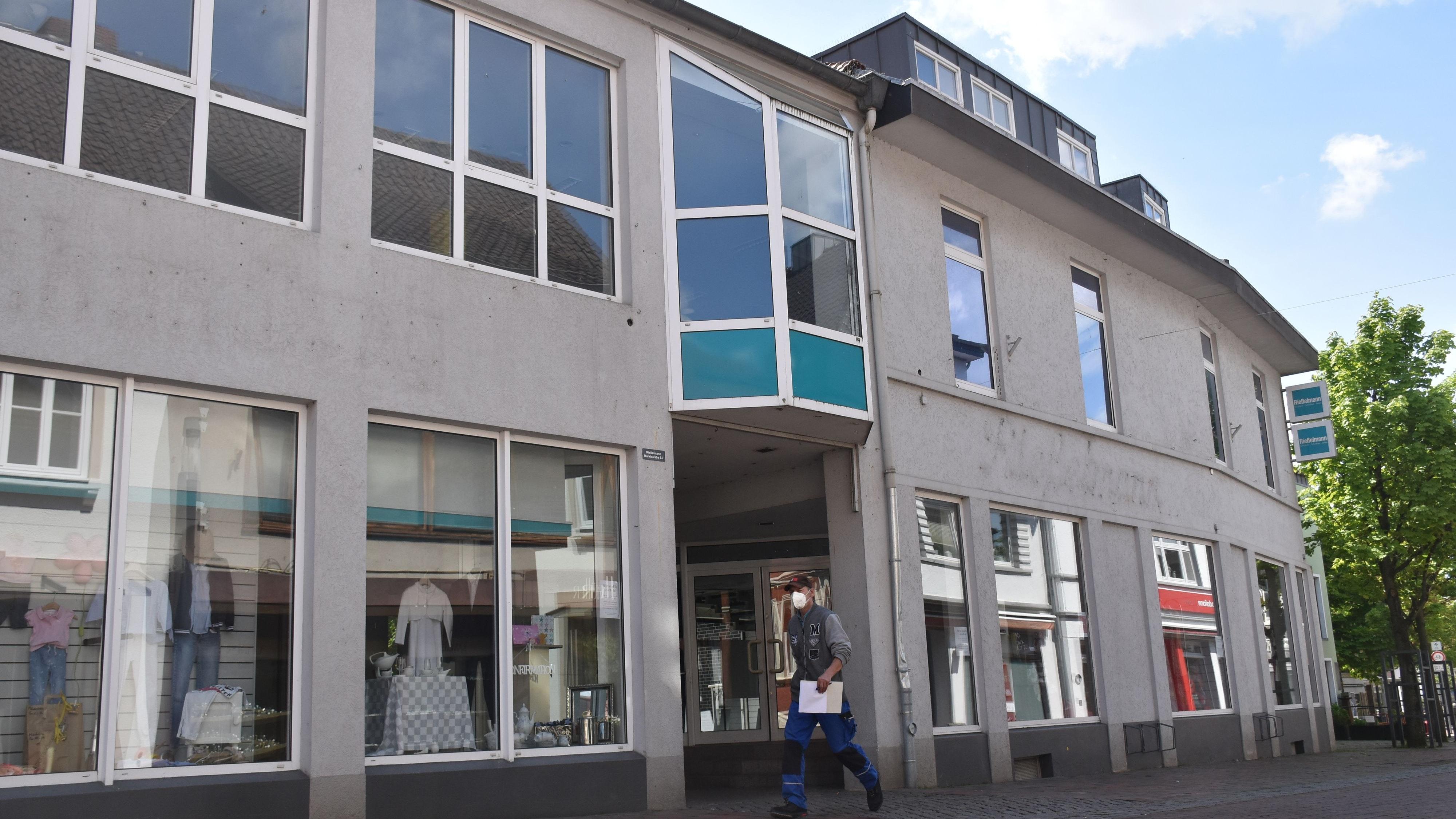 Das Haus Rießelmann: Die Stadt Lohne hatte das Gebäude im März gekauft. Archivfoto: Timphaus