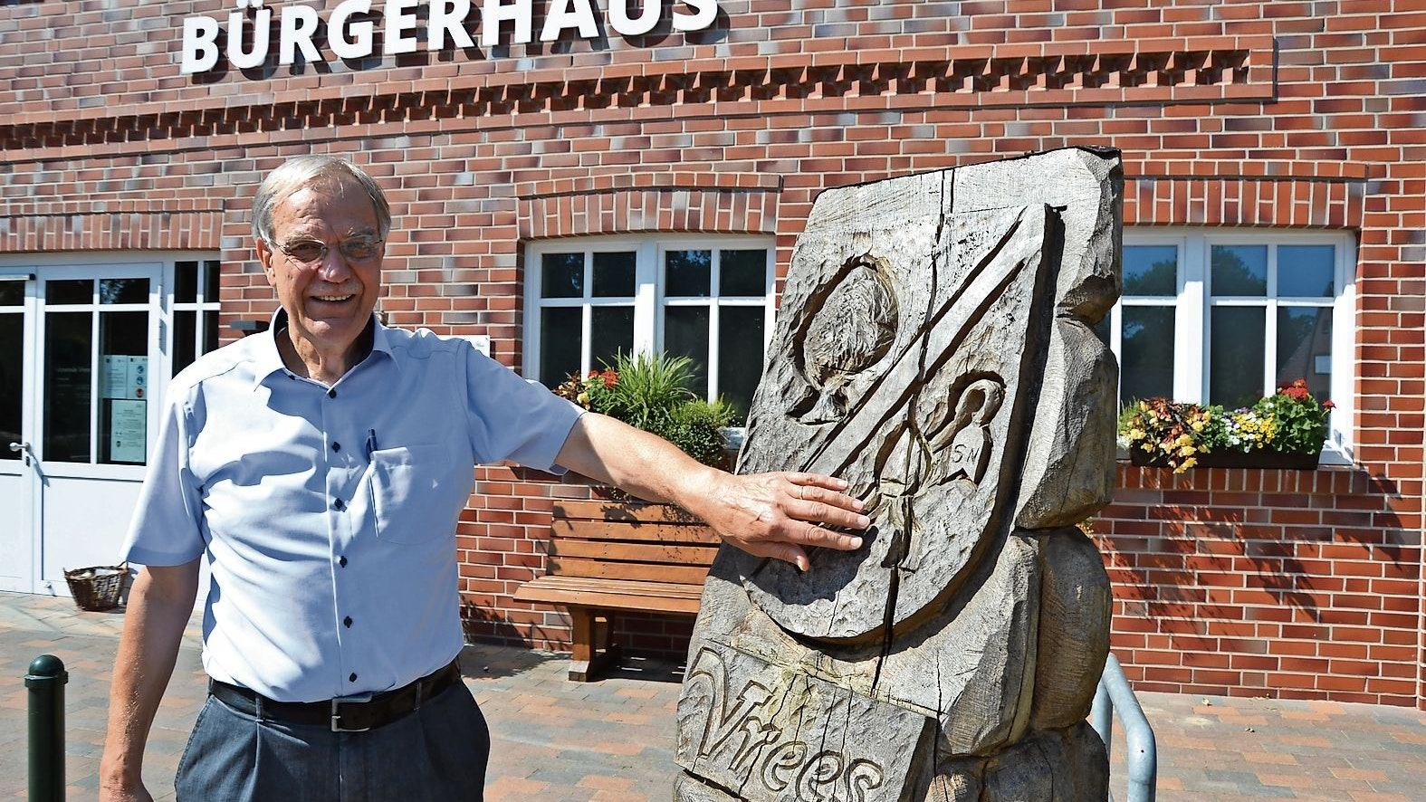 Will wieder kandidieren: Heribert Kleene möchte Bürgermeister bleiben. Foto: Meyer