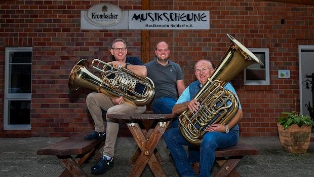 Musikverein Holdorf bittet zum Tuba-Workshop mit Prominenz