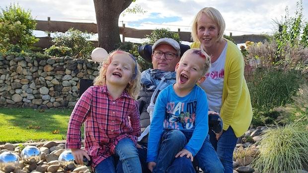Pflegekräfte gesucht: Bernard Vormoor möchte zu Hause bleiben