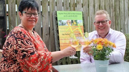 Meike Schlömer-Thomann veranstaltet Cityfest-Party und hat eine neue Idee für ihr Hotel