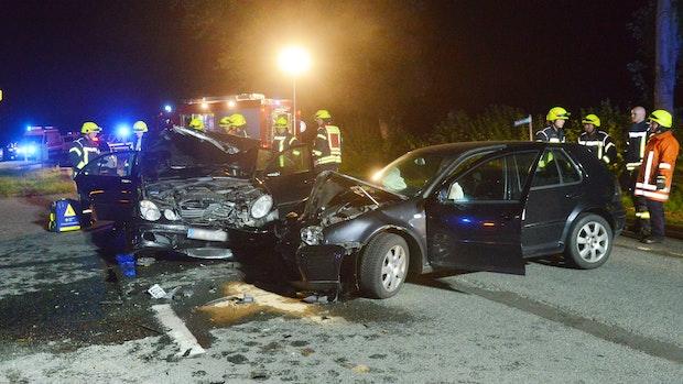 5 Leichtverletzte nach Unfall in Lindern