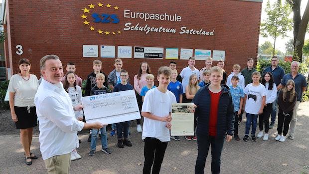 Schüler sammeln 21.000 Euro für Opfer der Flutkatastrophe