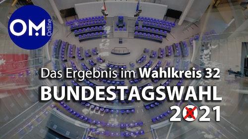 Bundestagswahl im Wahlkreis 32: Die Zahlen und Grafiken gibt's hier