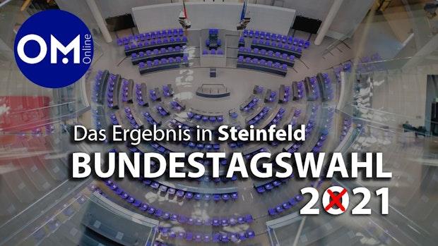 Bundestagswahl in Steinfeld: Die Zahlen und Grafiken gibt's hier
