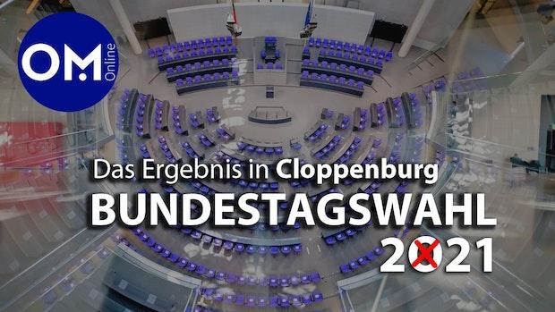 Bundestagswahl in der Stadt Cloppenburg: Die Zahlen und Grafiken gibt's hier