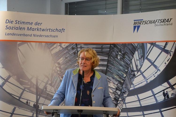 Möchte mehr gestalten: Niedersachsens Agrarministerin Barbara Otte-Kinast. Foto: G. Meyer