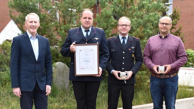 Freiwillige Feuerwehr Bakum wird für Unterstützung der Flutopfer geehrt