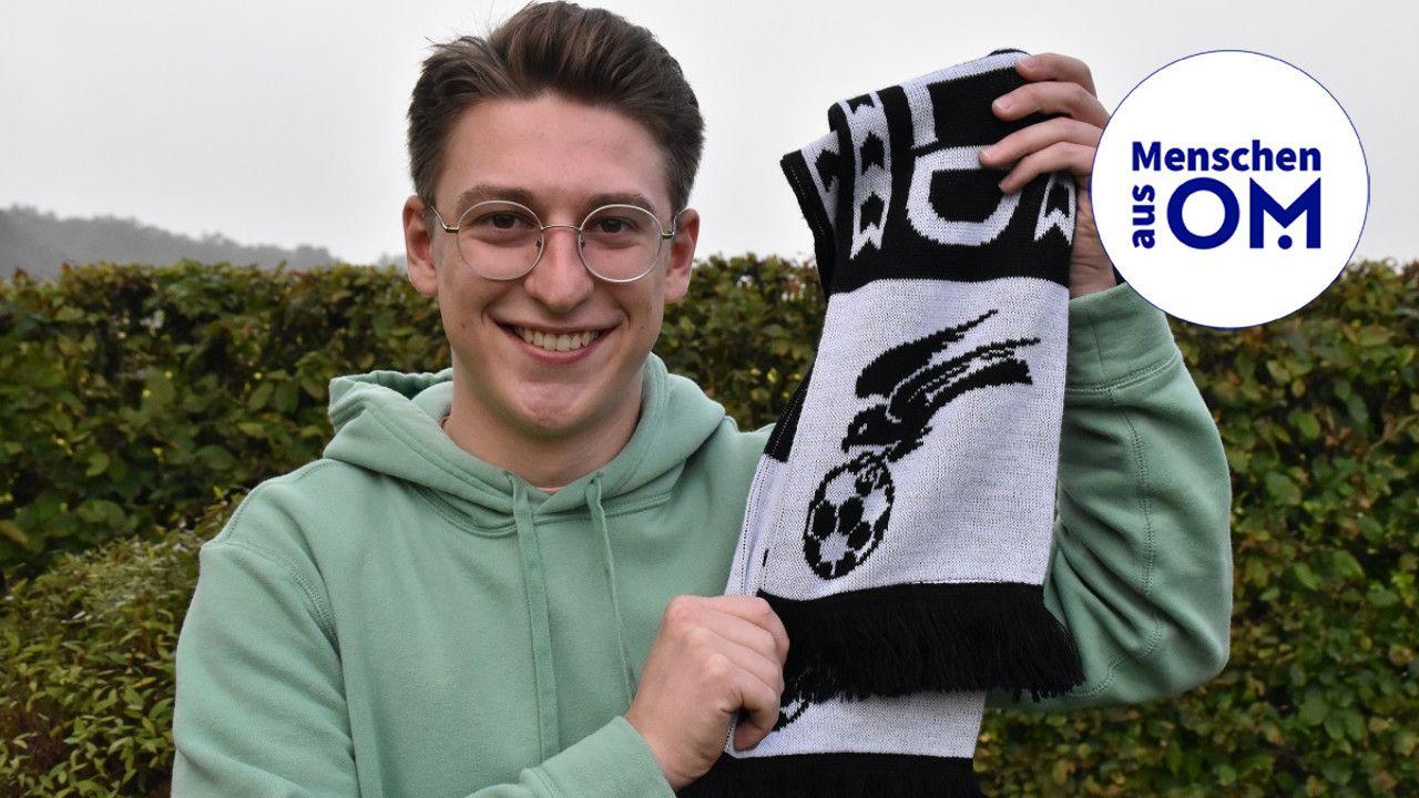 Falke liegt ihm am Herzen: Max Korbion ist mit dem SV Falke Steinfeld eng verbunden und möchte sich auch für die Entwicklung der Sportstätten in der Gemeinde stark machen. Foto: Klöker