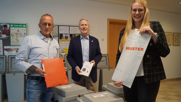 Peter Böckmann und Kim Klostermann machen die Wahl erst möglich