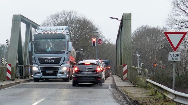 Kamper Brücke wird noch lange eine Engstelle bleiben