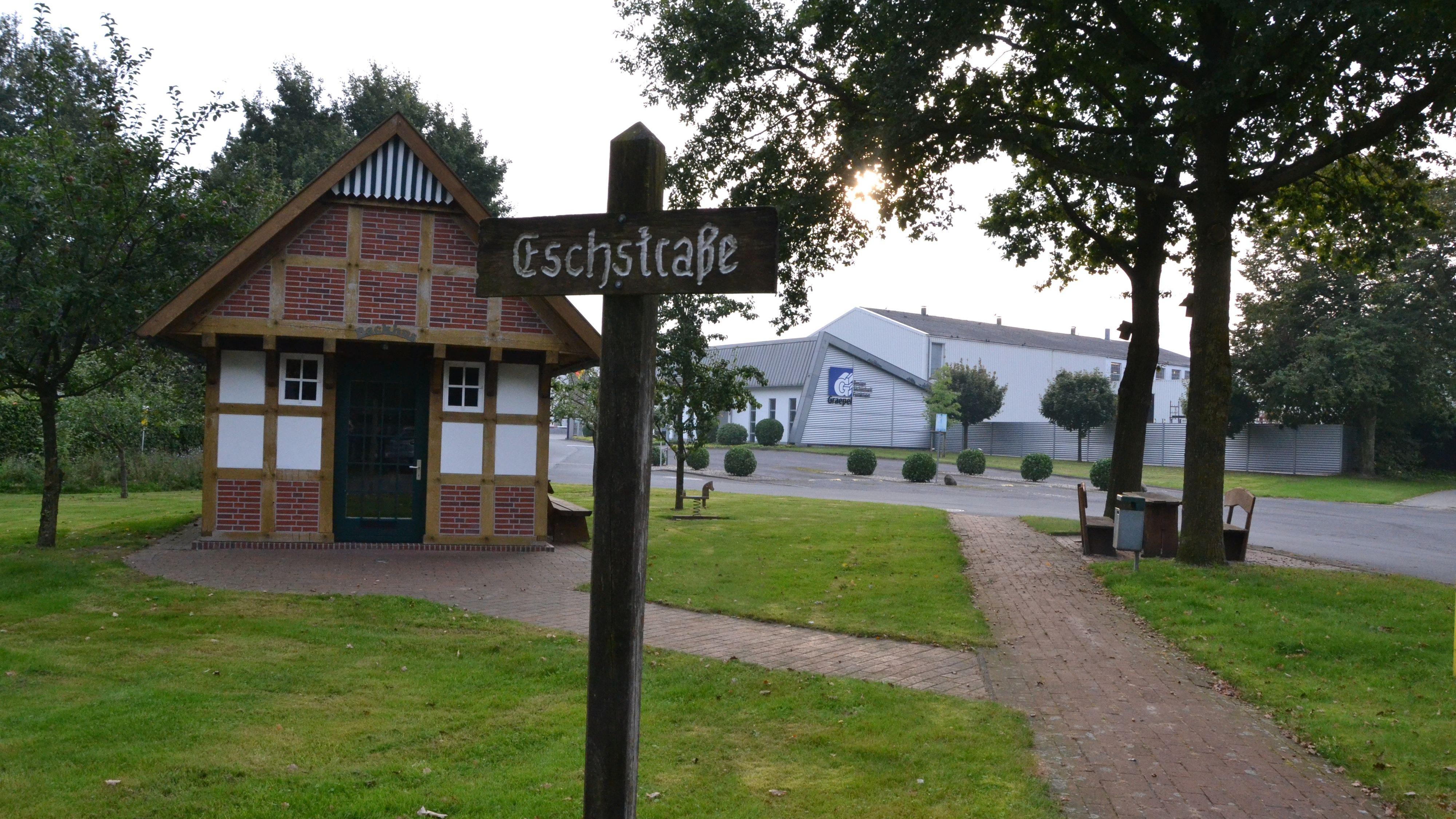 Neue Dorfmitte in Böen: Rund um das Backhaus laufen derzeit die Planungen. Foto: G. Meyer