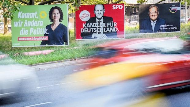 Der Vorsprung der SPD schmilzt leicht