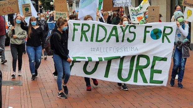 Rund 300 Teilnehmer bei Fridays for Future im Oldenburger Münsterland