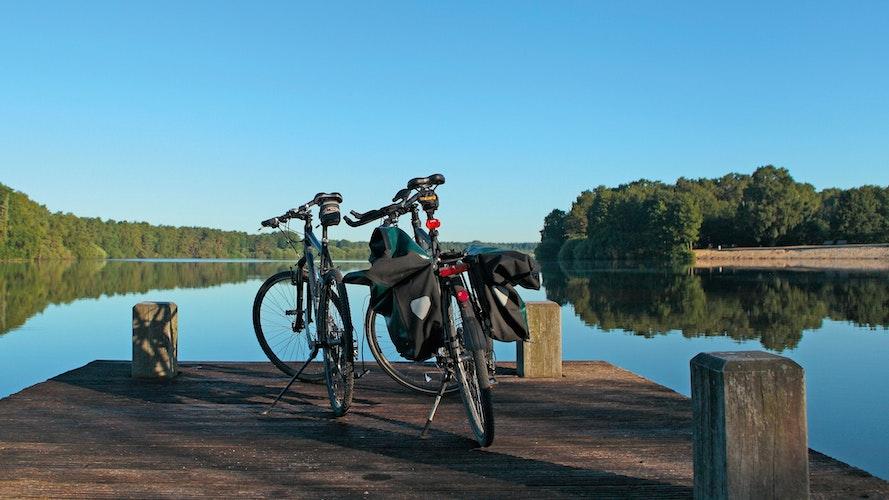 Entdeckertouren: Rund um die Talsperre gibt es vieles mit dem Rad zu erkunden. Foto:Norbert Klockgether