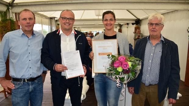 Auszeichnung der Bürgerstiftung: Juliane Futtermann erhält Ehrenamtspreis
