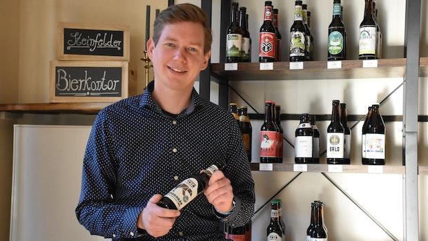 Im Steinfelder Bierkontor gibt es die große Vielfalt von Hopfen und Malz