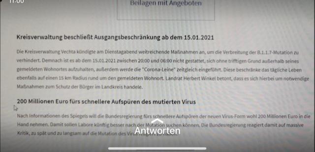 Der gefälschte Screenshot wurde bereits über die WhatsApp-Story-Funktion geteilt. Foto: OM online