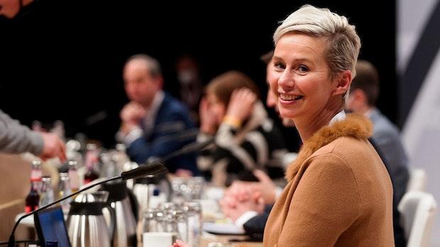 Silvia Breher moderiert den CDU-Parteitag