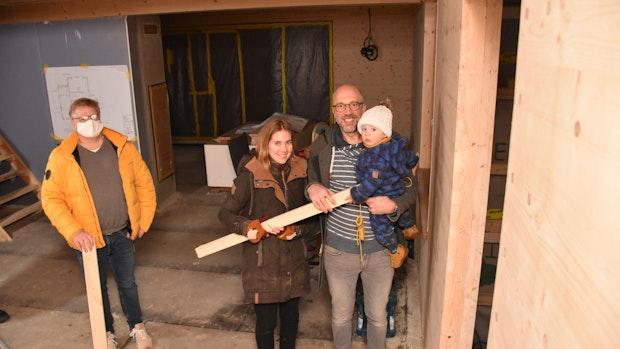 Die Speckmanns bauen – fast ohne Abfall