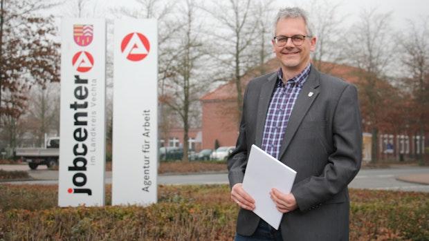 Frank kl. Kruthaup ist der neue Chef des Jobcenters