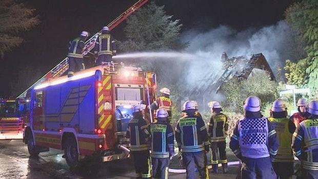 Haus in Ahlhorn angezündet: Verwandte Brandstifter müssen ins Gefängnis