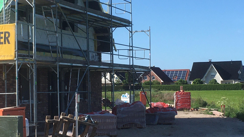 Aufbau West: Im Mittelstand boomt Südoldenburg nach wie vor, wie hier im Baugewerbe. Foto: Archiv Kreke