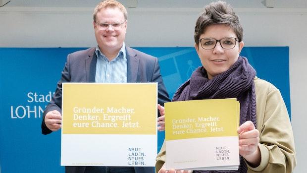 Stadt wirbt für neues Gründerprogramm