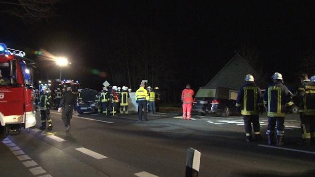 Frau stirbt bei Unfall auf B68 in Alfhausen