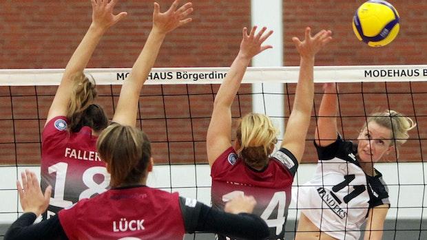 Oyther Volleyballdamen trainieren wieder