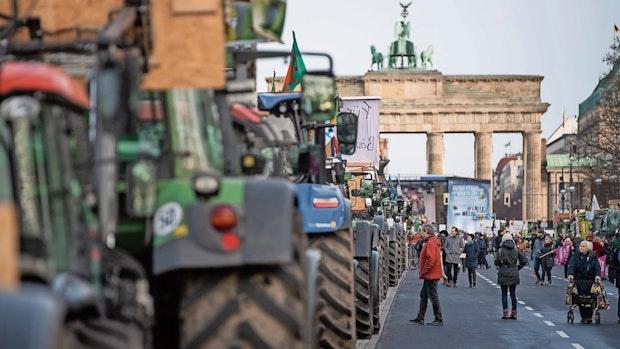 Wegen schlechter Preise: Bauern wollen in Berlin demonstrieren