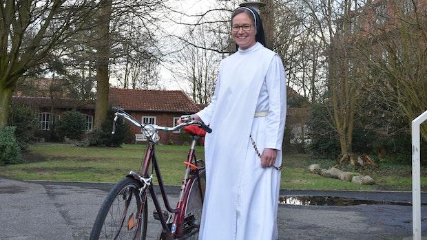 Eine Dominikanerin in Vechta