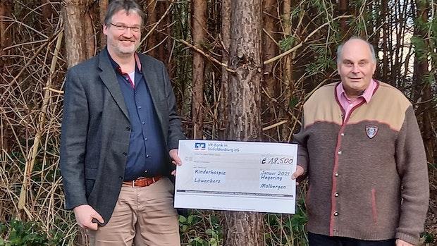 Auch ohne Taubenjagd:Jäger sammeln 18.500 Euro für Kinder