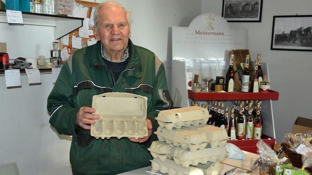 Geflügelpest in Bühren: Eierkartons in Vechta müssen leer bleiben