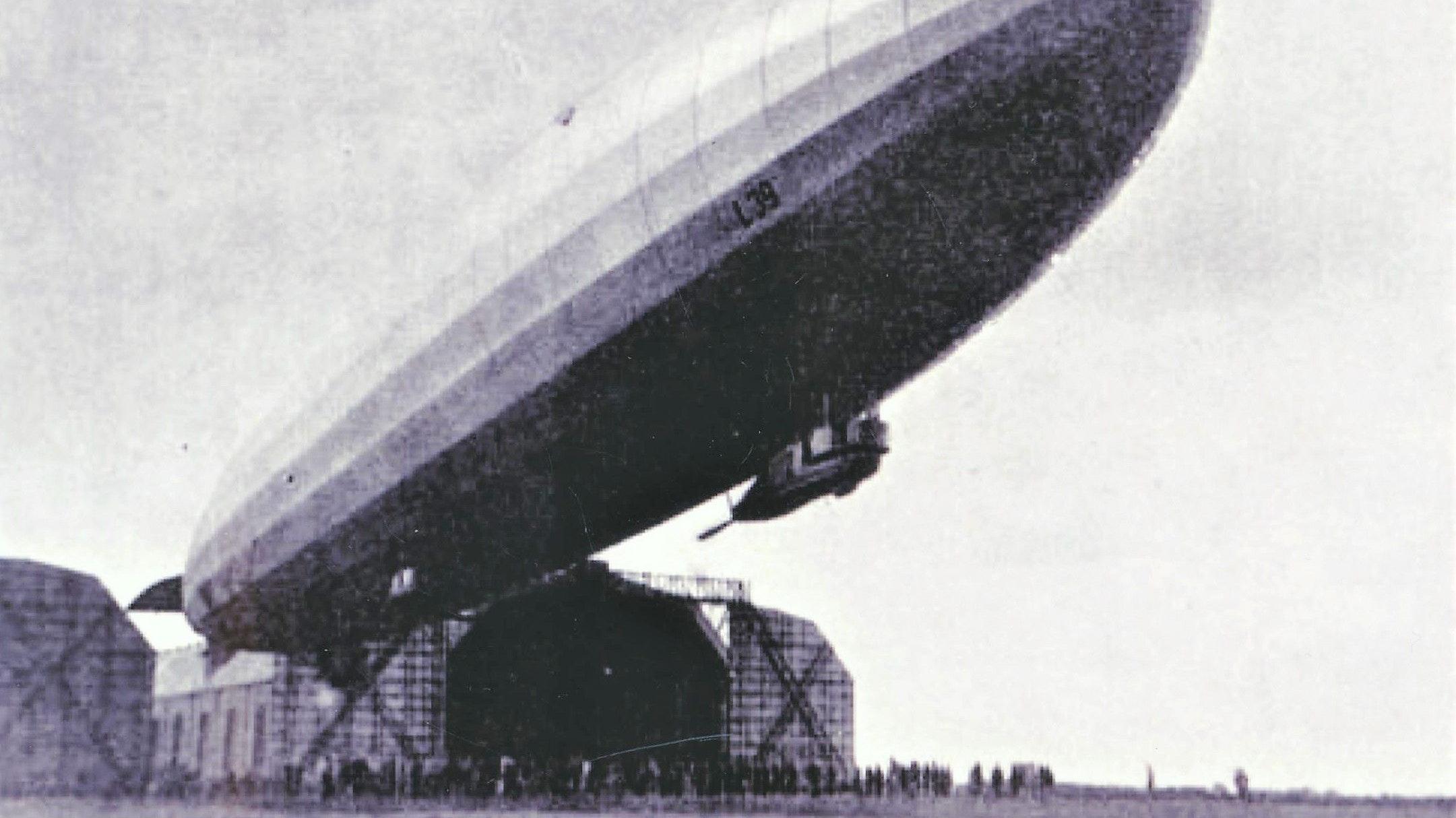 Beeindruckend: Zeppeline galten seinerzeit als technische Wunderwerke. Foto: Archiv Faß
