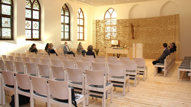 Kapelle der Liebfrauenschule präsentiert sich in neuem Gewand
