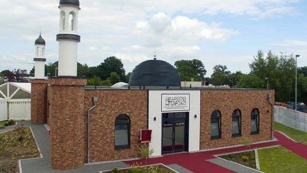 Domizil der Muslime in Vechta. Die Bait-ul-Qaadir-Moschee befindet sich an der Gutenbergstraße. Foto: AMJ